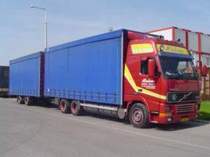 CAO Beroepsgoederenvervoer - vrachtauto